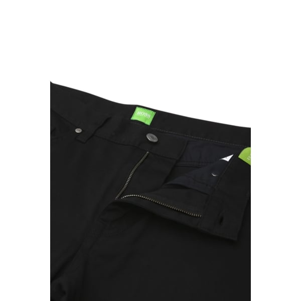 boss green boss green c maine1 short leg jeans in black. Black Bedroom Furniture Sets. Home Design Ideas