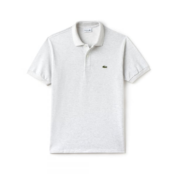 Lacoste Lacoste Classic Logo Polo Shirt In Grey Chameleon