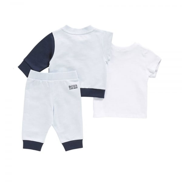 Hugo Boss Kids Boss Kids Tracksuits Tracksuit Set In Baby