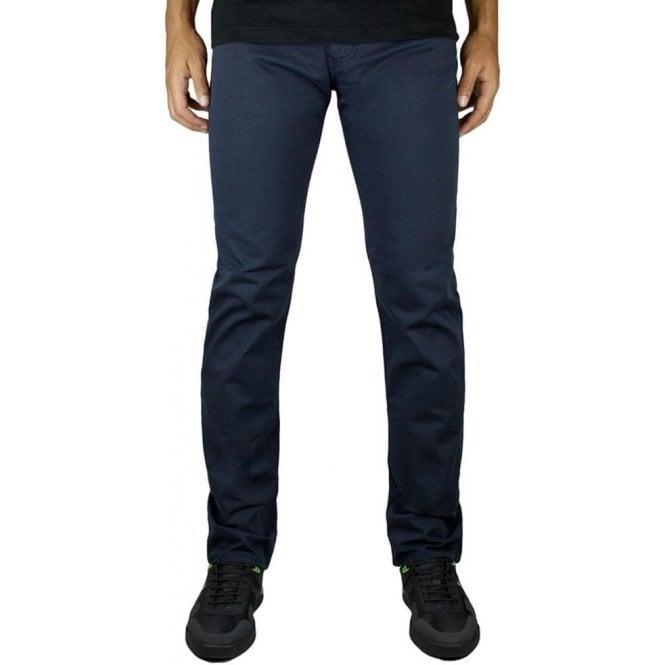 Armani Jeans J45 Slim Long Leg Jeans in Navy