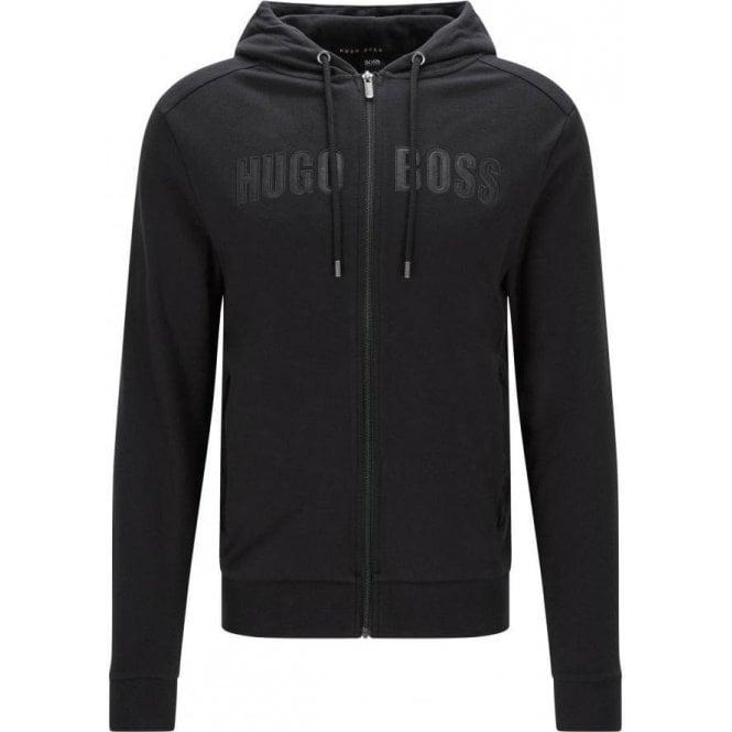 Hugo Boss Black Label Boss Black Jacket Hooded Loungewear in Black