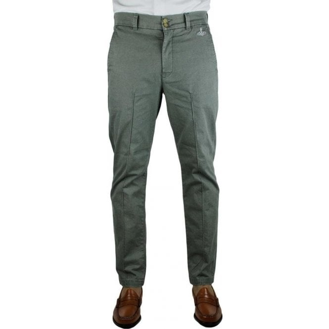 Vivienne Westwood Classic Chinos in Charcoal