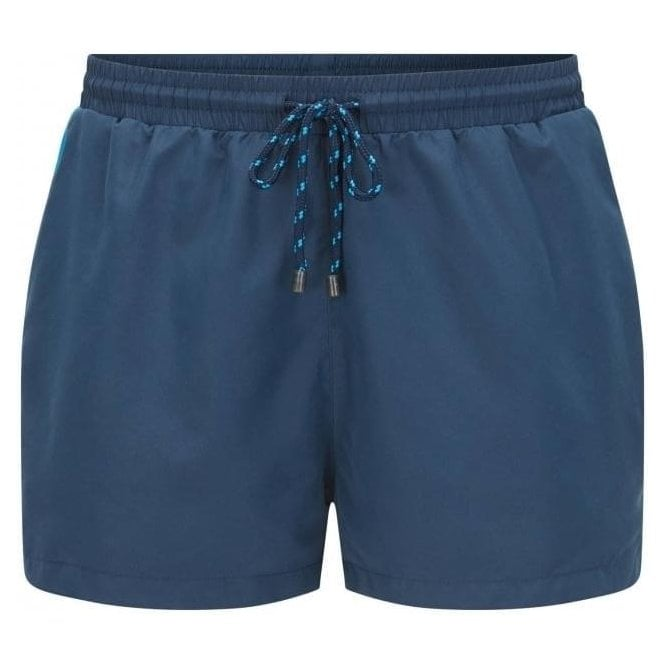 Hugo Boss Black Label Boss Black Mooneye Swim Shorts in Navy