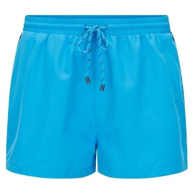 Hugo Boss Black Label Boss Black Mooneye Swim Shorts in Light Blue