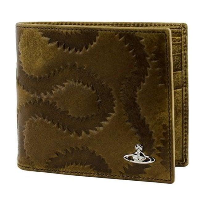 Vivienne Westwood Squiggle Wallet in Brown