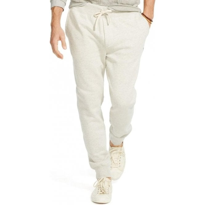 Polo Ralph Lauren Ralph Lauren Polo Cuffed Jogging Bottoms in Grey