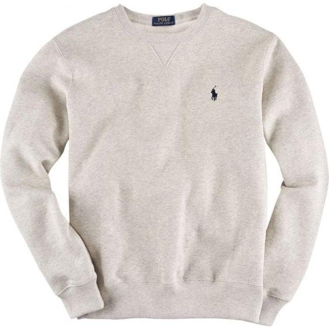 Polo Ralph Lauren Ralph Lauren Polo Long Sleeve Slim Sweatshirt in Grey