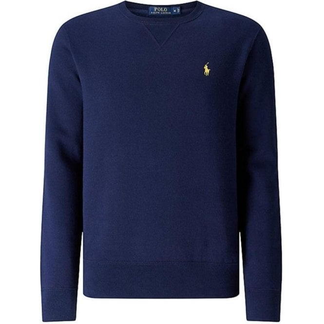 Polo Ralph Lauren Ralph Lauren Polo Yellow Horse Sweatshirt in Navy