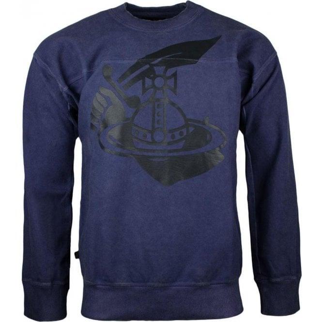 Vivienne Westwood Square Sweatshirt in Navy
