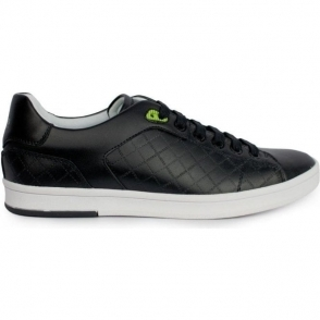 Boss Green Trainers Ray Check in Black