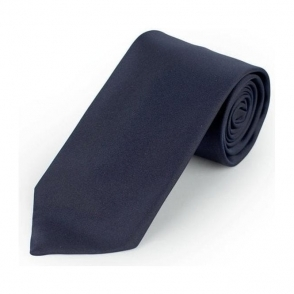 Boss Black Ties Tie 7.5 in Navy