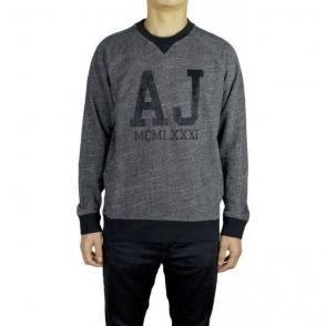 Armani Jeans AJ Logo Knitwear in Navy