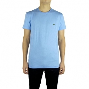 Lacoste Plain Logo T-Shirt in Light Blue