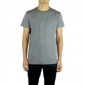Lacoste Plain Logo T-Shirt in Dark Grey