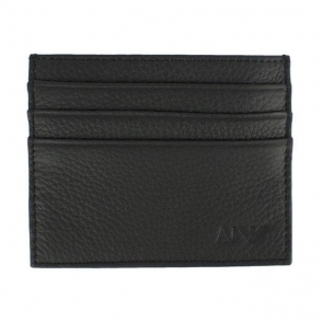 Armani Jeans Cardholder Wallet in Black