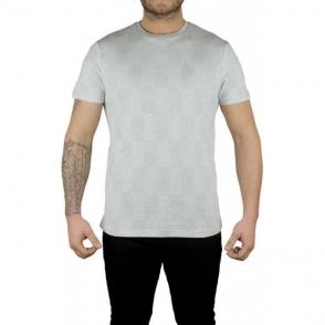 Lyle & Scott Vintage Stitch Block T-Shirt in Grey