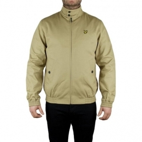 Lyle & Scott Vintage Harrington Jacket in Beige