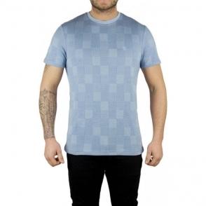 Lyle & Scott Vintage Stitch Block T-Shirt in Blue