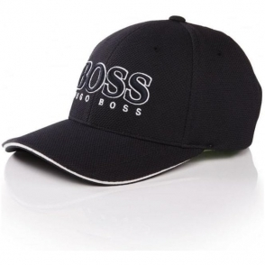Boss Green Cap US Cap in Navy