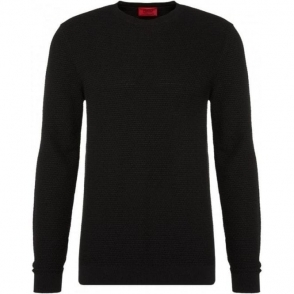 Hugo Sorito Knitwear in Black