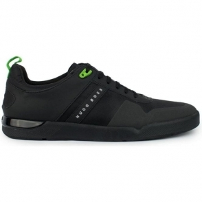 Boss Green Feather_Tenn Trainers in Black