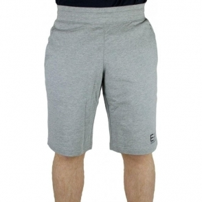 Ea7 Jersey Shorts in Grey