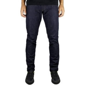 Armani Jeans J06 Slim Regular Leg Jeans in Dark Wash