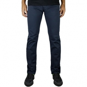 Armani Jeans J45 Slim Long Leg Jeans in Navy