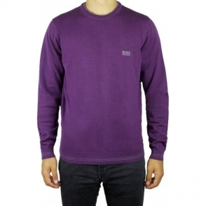 Boss Green Rime_W16 Knitwear in Purple