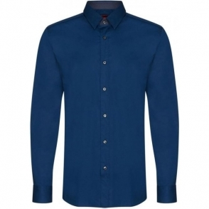 Hugo Elishan Formal Shirt in Blue