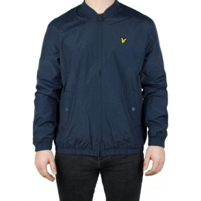 Lyle & Scott Vintage Bomber Jacket in Navy