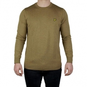 Lyle & Scott Vintage Merino Knitwear in Brown