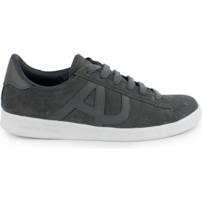 Armani Jeans AJ Suede Trainers in Grey