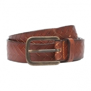 Boss Orange Jonasio Belt in Dark Brown