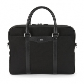 Boss Black Signature Bag in Black