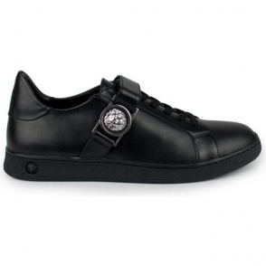 V Versus Sport Lion Trainers in Black