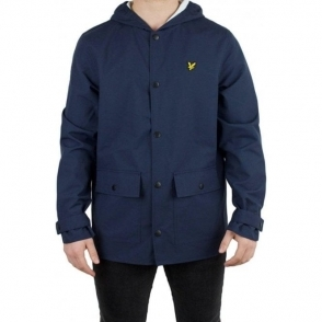 Lyle & Scott Vintage Raincoat Jacket in Navy