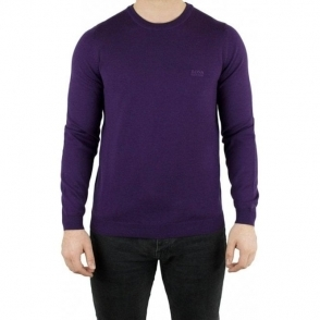 Boss Green C-Caio Knitwear in Purple