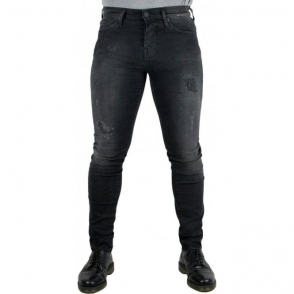 True Religion Rocco Destroy Jeans in Black