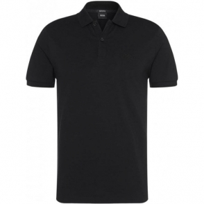 Boss Black Pallas Polo Shirt in Black