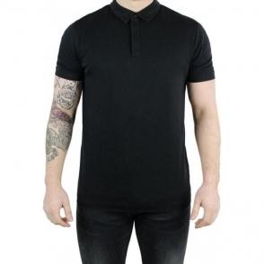 Hugo Duxor Polo Top in Black