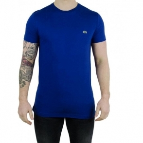 Lacoste Plain Logo T-Shirt in Dark Blue
