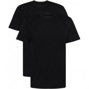 Boss Black T-shirt 2 Pack in Black