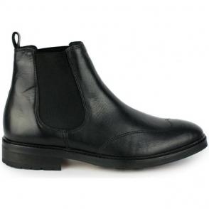 Armani Jeans Chelsea Boots Footwear in Black