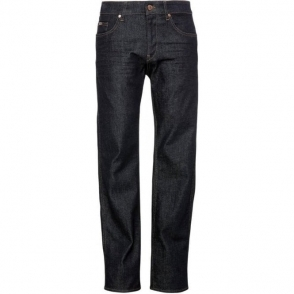 Boss Green C-Delaware Long Leg Jeans in Dark Blue