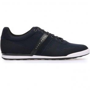 Boss Green Arkanas Low-Top Trainers in Dark Blue