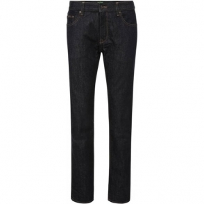 Boss Green C-Maine 1 Long Leg Jeans in Dark Wash