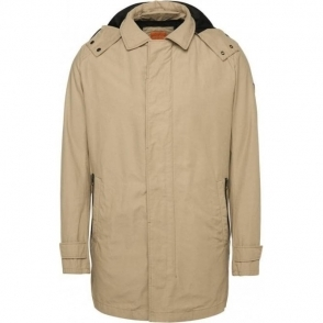 Boss Orange Otorio-W Coat in Beige