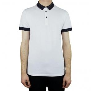 Boss Orange Pilipe Polo Shirt in White