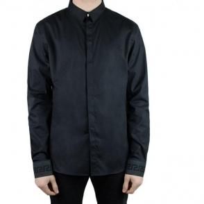 Versus Versace Lion Back Shirt in Black